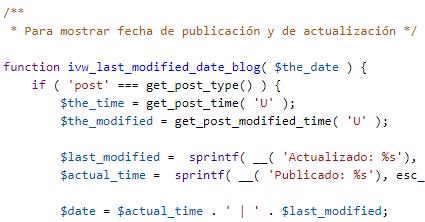 Fechas Publicación y Modificación2